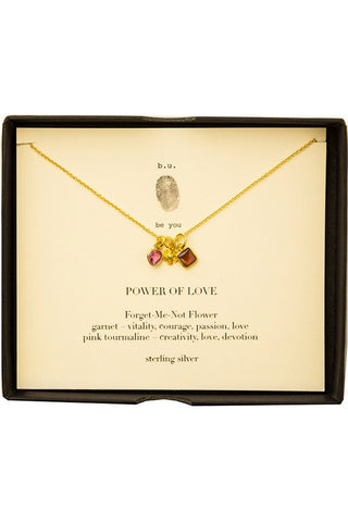 b.u. power of love necklace