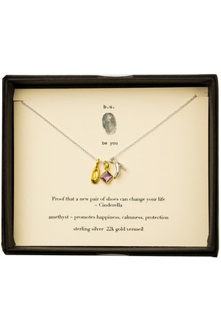 b.u. cinderella necklace