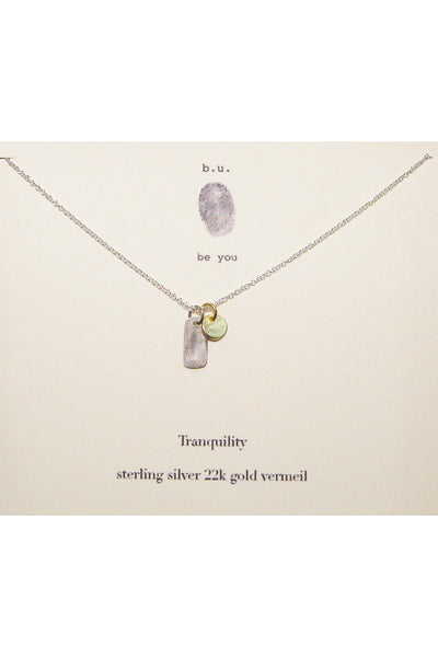 b.u. tranquility necklace