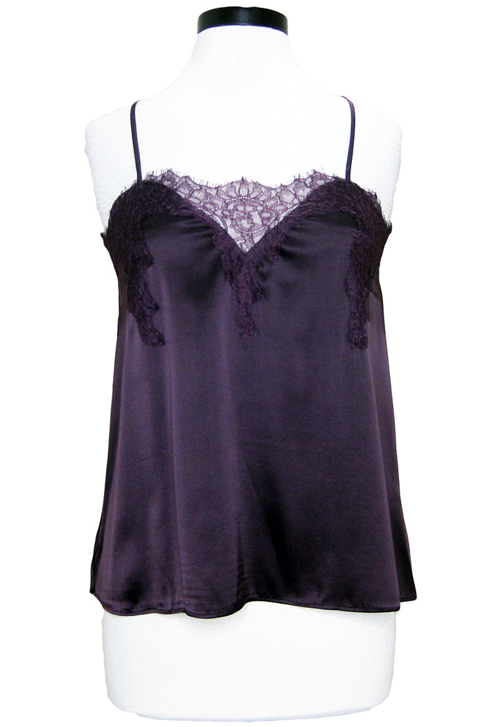 cami nyc the sweetheart charmeuse aubergine