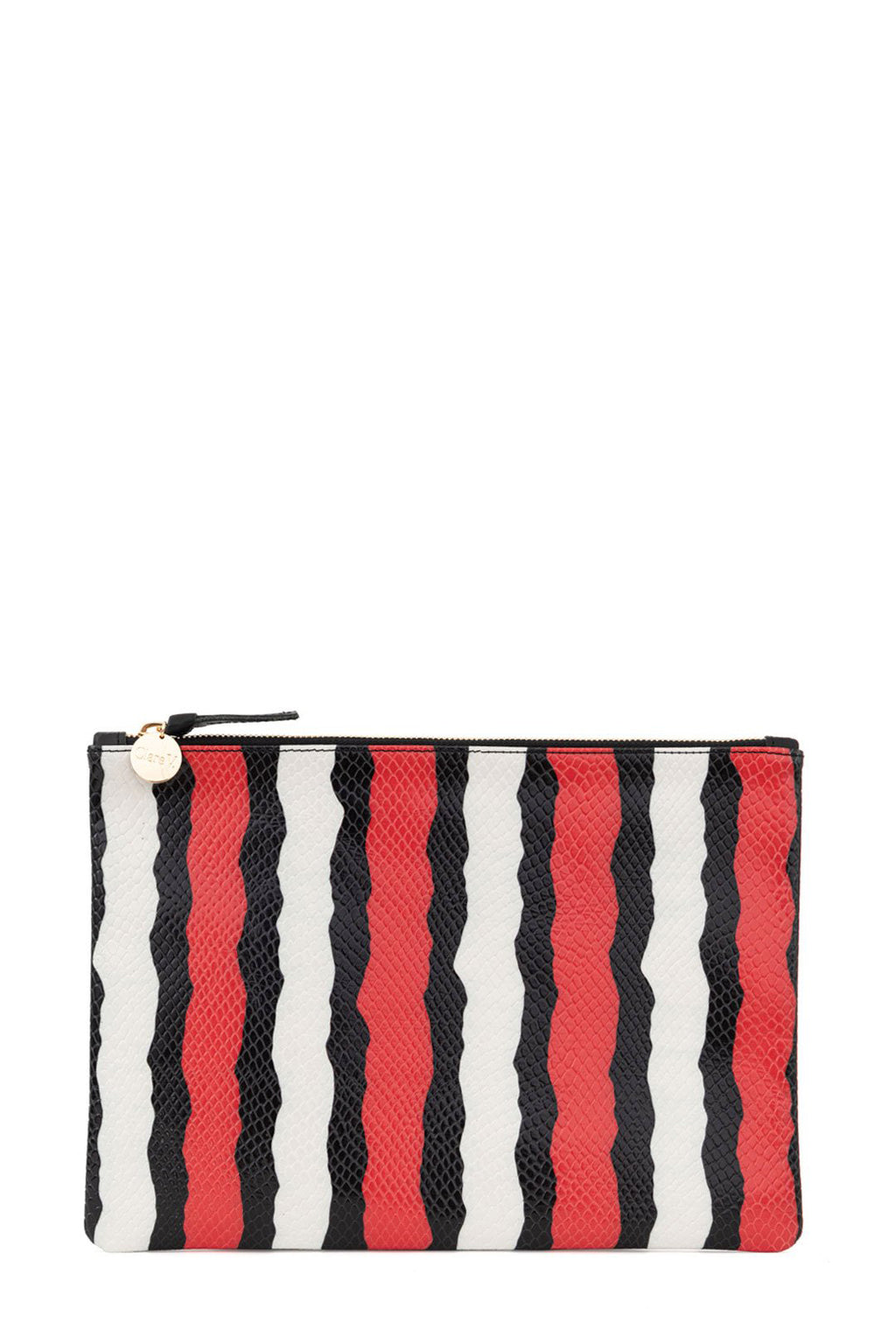 clare v. flat clutch poppy striped snake