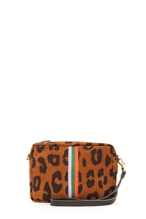 clare v. midi sac cognac pablo cat with stripes