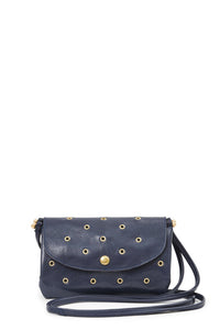 clare v. taco bag navy with grommets
