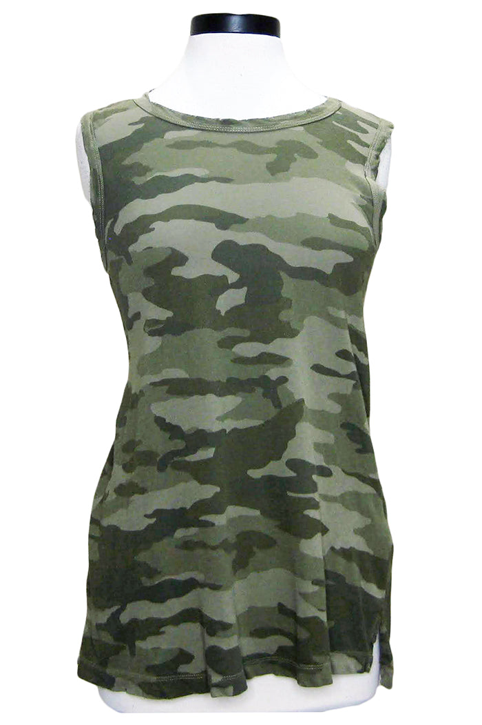 current/elliott the muscle tee army camo