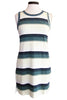 current/elliott the muscle tee dress ocean surfer stripe