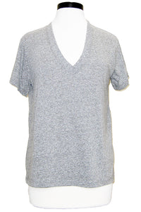 current/elliott the perfect v tee heather grey