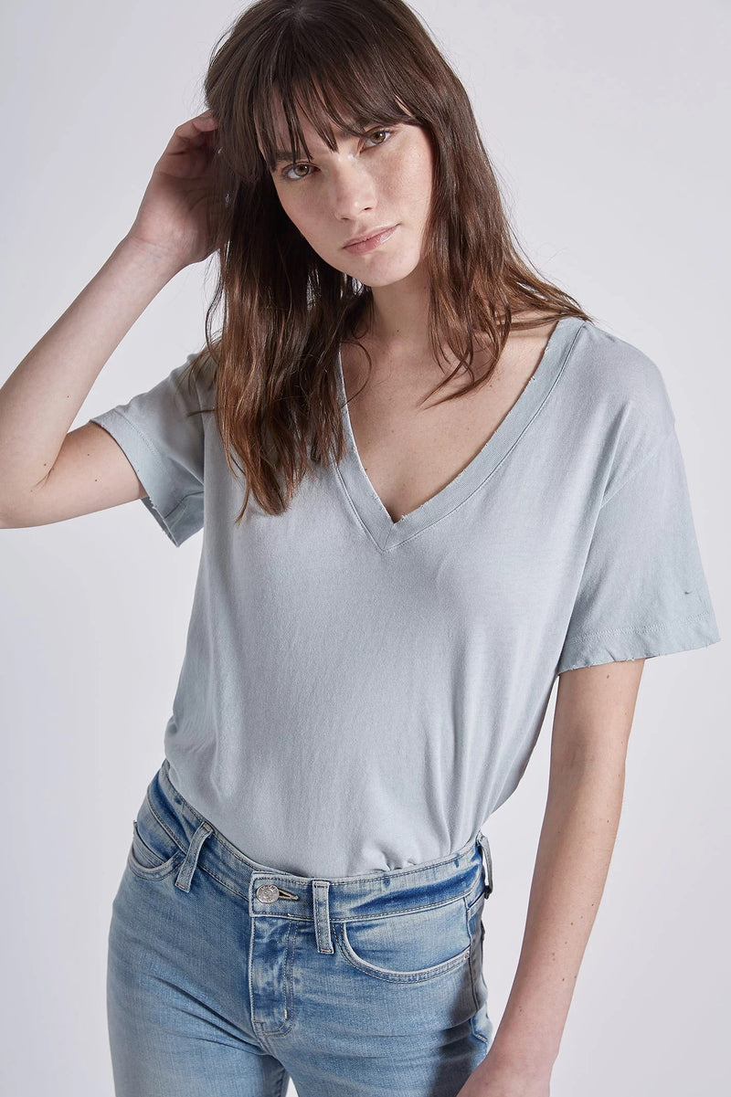current/elliott the perfect v tee mineral haze