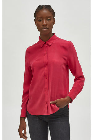 equipment leema silk shirt
