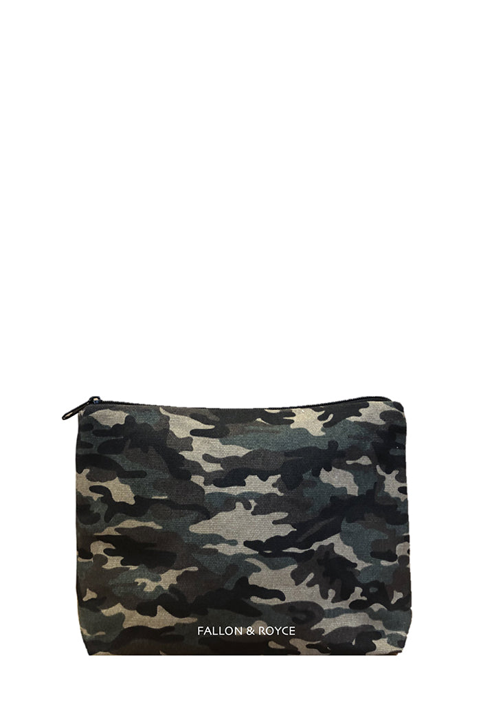 fallon & royce secret stash camo beaded clutch