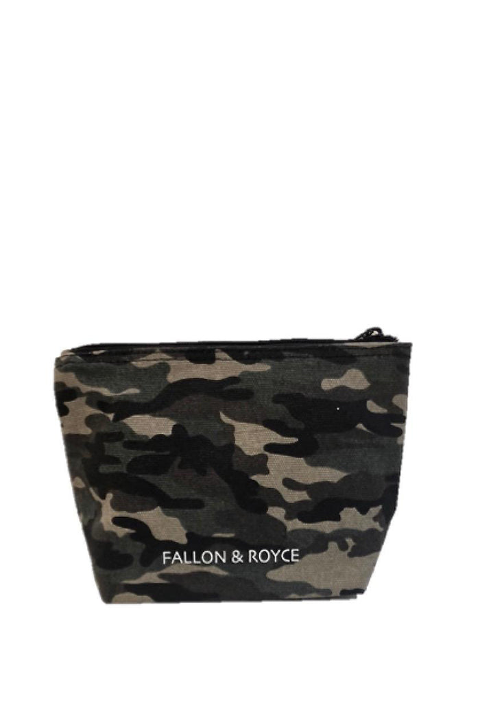 fallon & royce #wifey camo beaded pouch