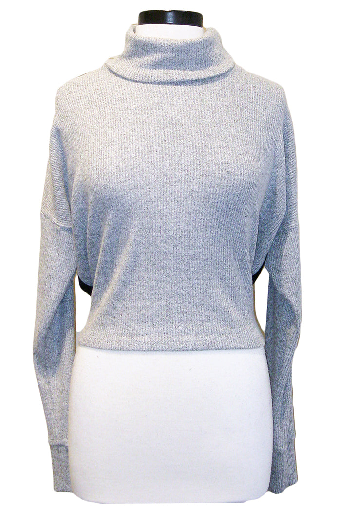 fifteen twenty reversible turtleneck grey