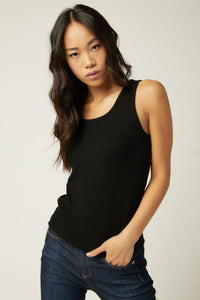 fifteen twenty everyday rib tank black