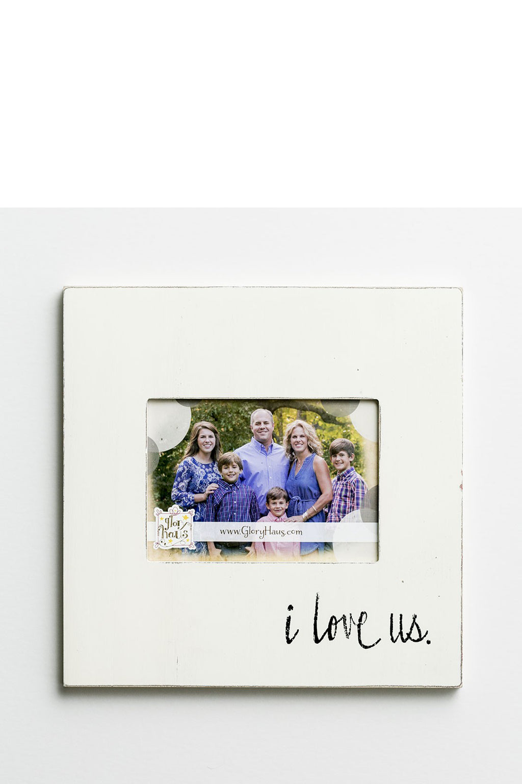 glory haus i love us frame