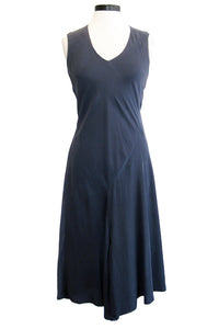 go silk go drape dress midnight