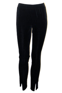 go silk go velvet legging black