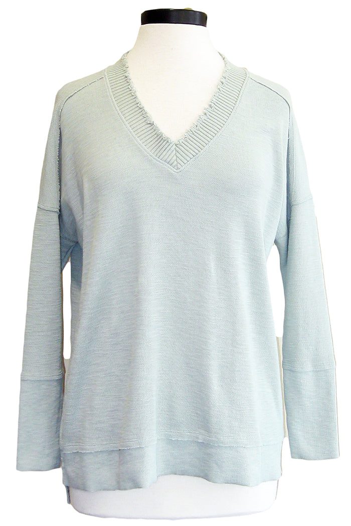 grey state husdon top sonnet blue