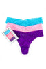 hanky panky 3 pack original rise thongs