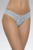 hanky panky rolled signature lace low rise thong (more colors available)