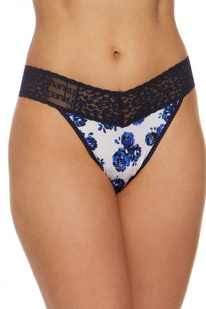 hanky panky rolled teacup rose original rise thong