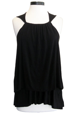 jet double layered swing top black