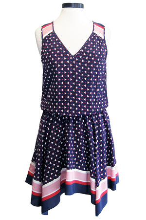joie ginabel dress dark navy