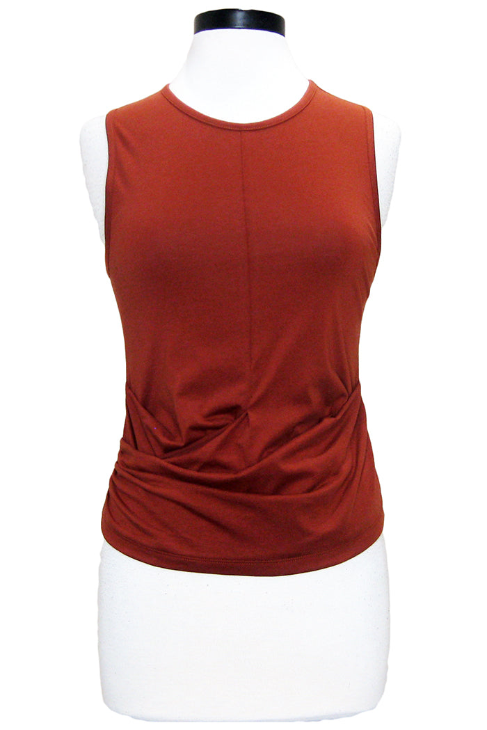 joie kuvani top deep terracotta