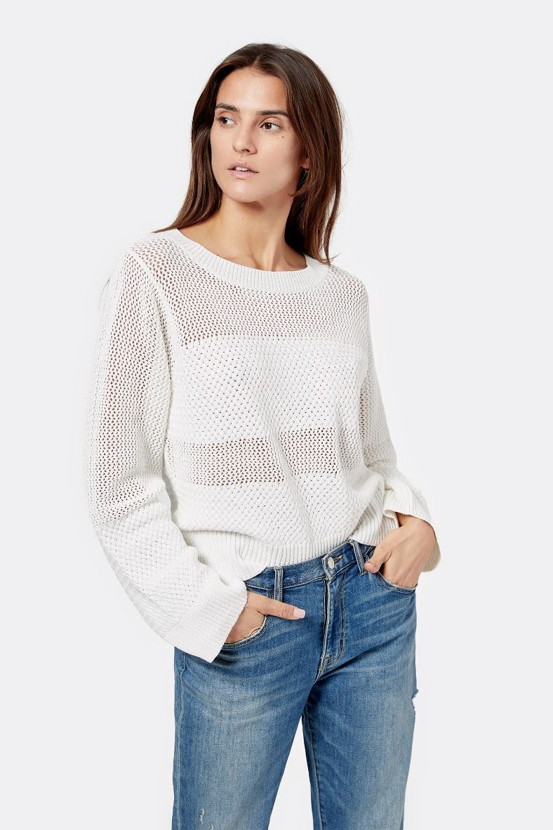 joie elia sweater porcelain