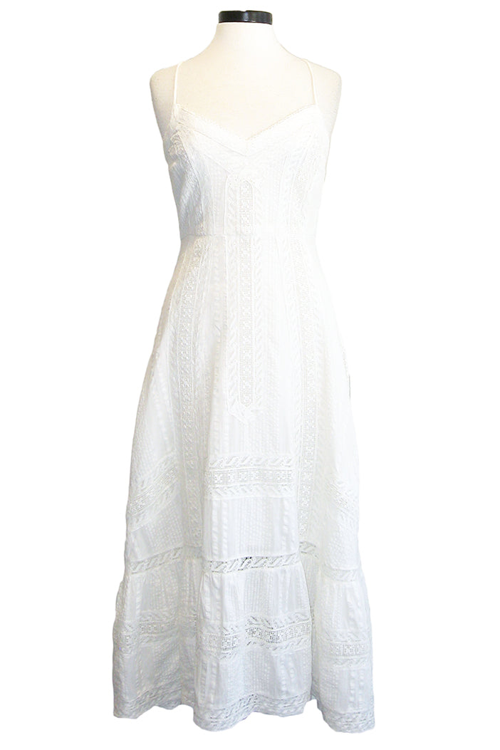 loveshackfancy marlow dress antique white