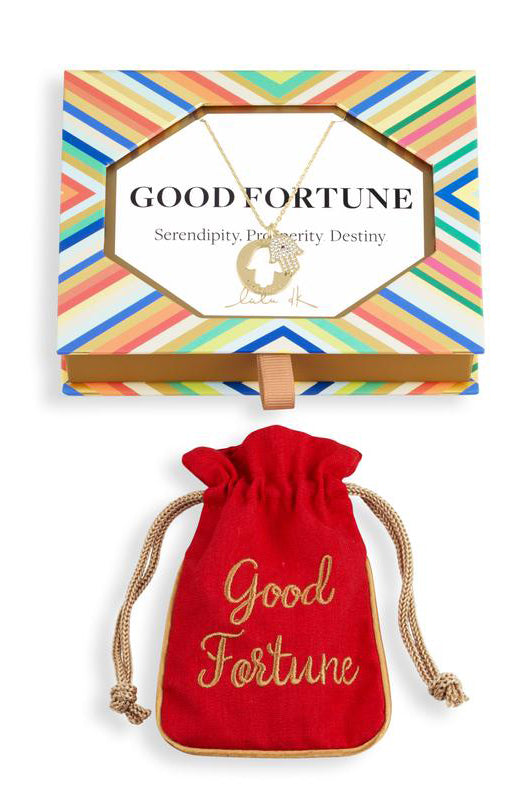 lulu dk good fortune necklace