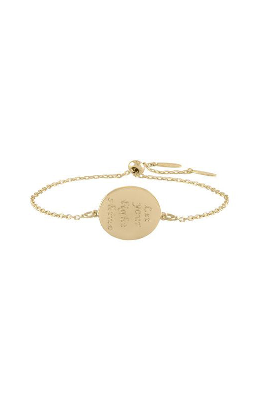 lulu dk let your light shine bracelet