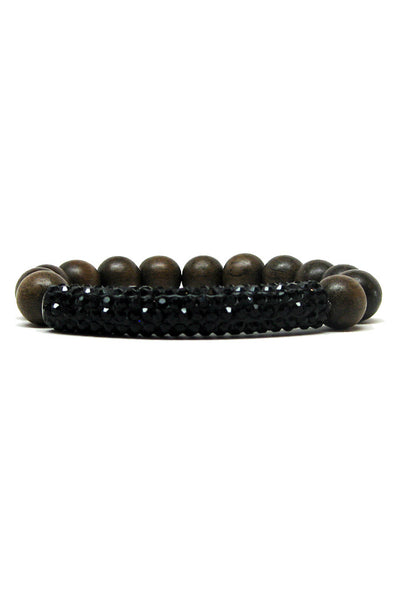 madera greywood bracelet black tube