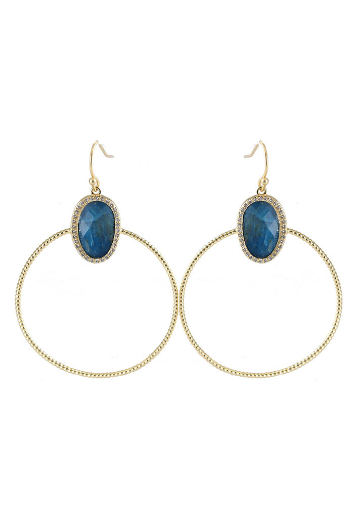 marcia moran abigail earrings apatite gold