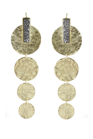 marcia moran carthay earrings gold