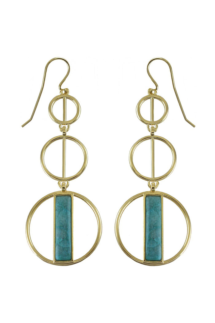 marcia moran formosa earrings crisicola gold