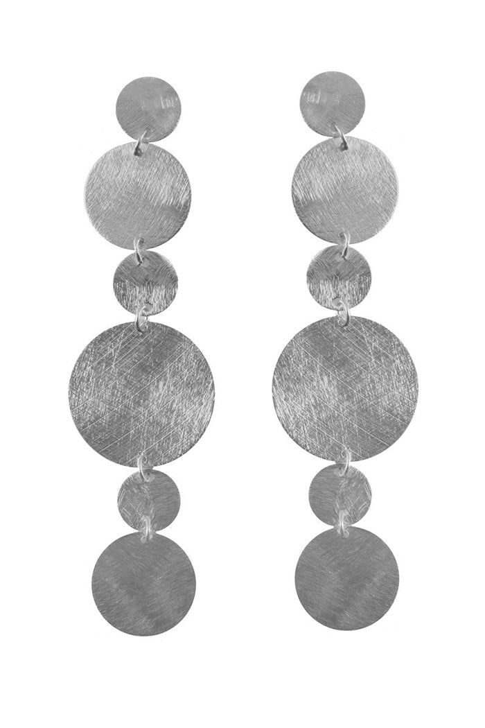 marcia moran glenn earrings silver rhodium