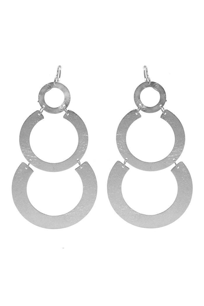 marcia moran nevia earrings silver rhodium