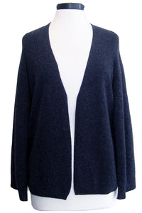 minnie rose cardigan cape charcoal