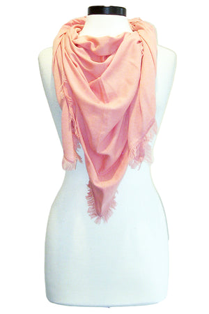 minnie rose frayed edge shawl