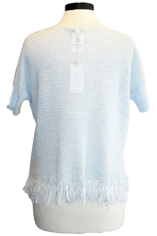 minnie rose mesh fringe boyfriend