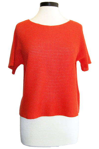 minnie rose mesh pullover