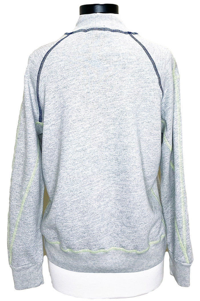 monrow pop stitching sweatshirt
