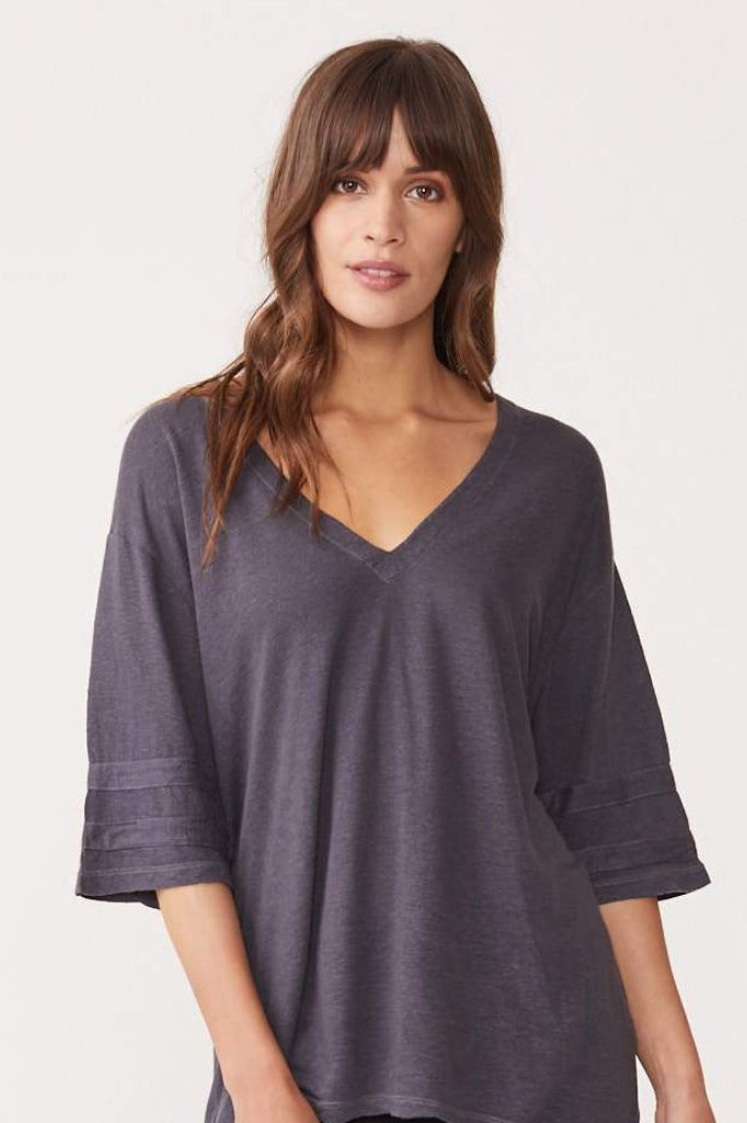 monrow oversized athletic tee