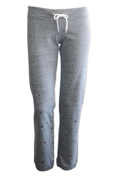 monrow vintage sweats with stardust dark heather