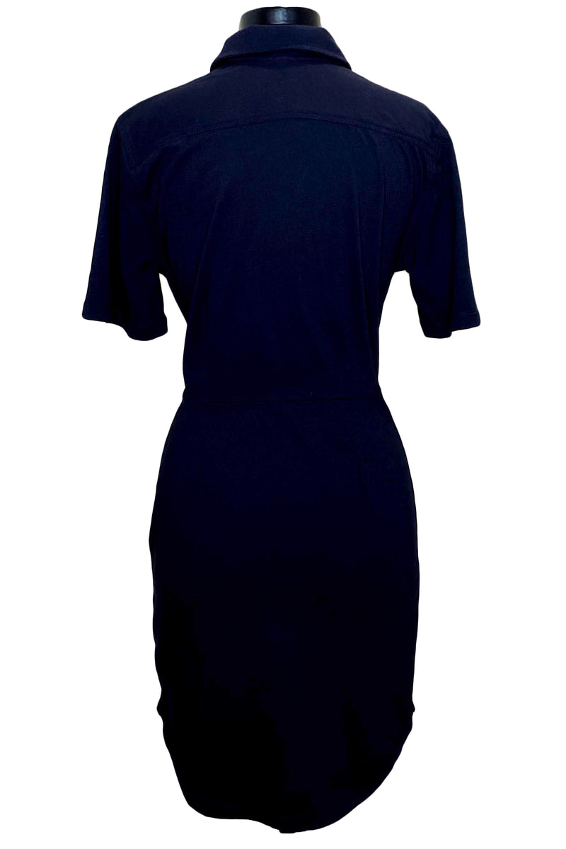 monrow jersey shirt dress