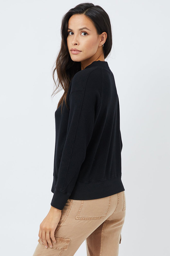 monrow thermal mock neck