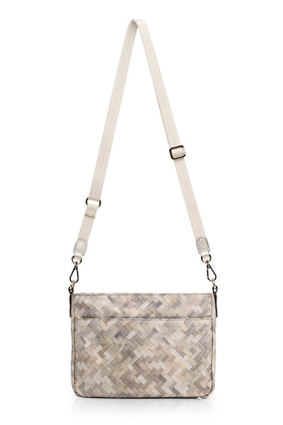 mz wallace abbey crossbody in basket weave