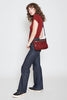 mz wallace abbey crossbody in pomegranate