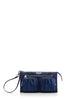 mz wallace abbey wristlet in estate blue