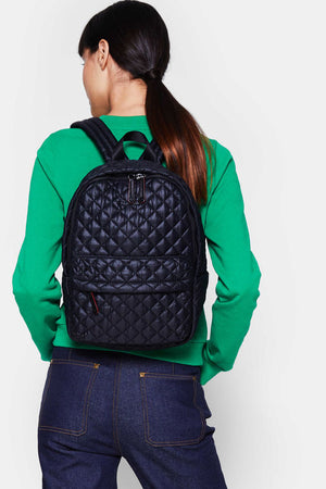 mz wallace city backpack in black