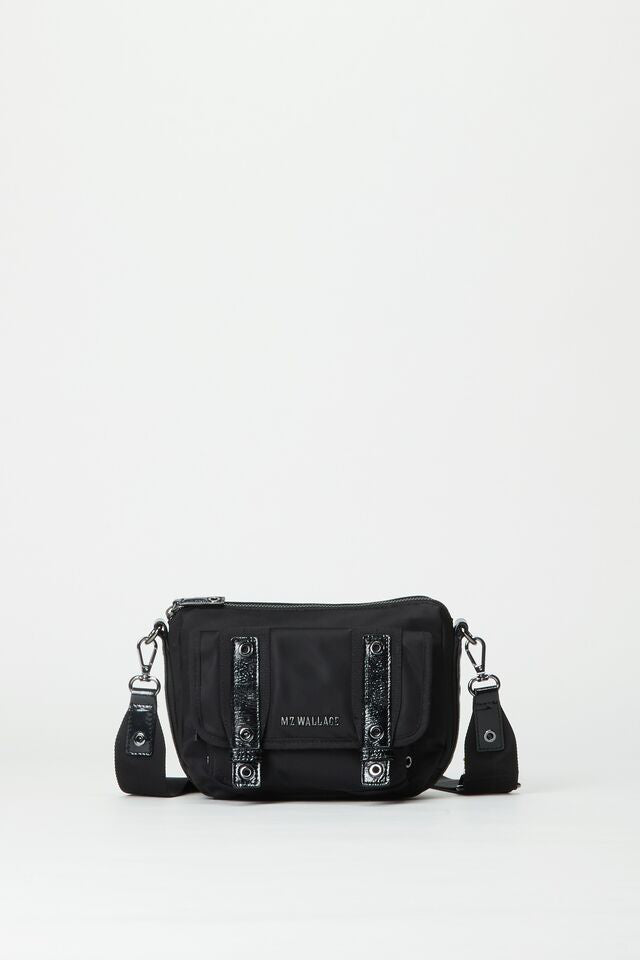 mz wallace fulton crossbody in black